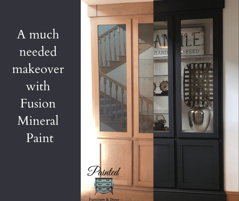 How to paint a Built-in with Fusion Mineral Paint