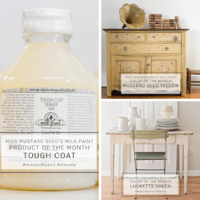 April Miss Mustard Seed milk paint bundle
