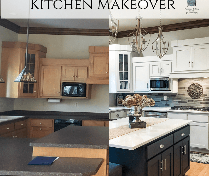 Kitchen Makeover using Fusion Mineral Paint Part 1