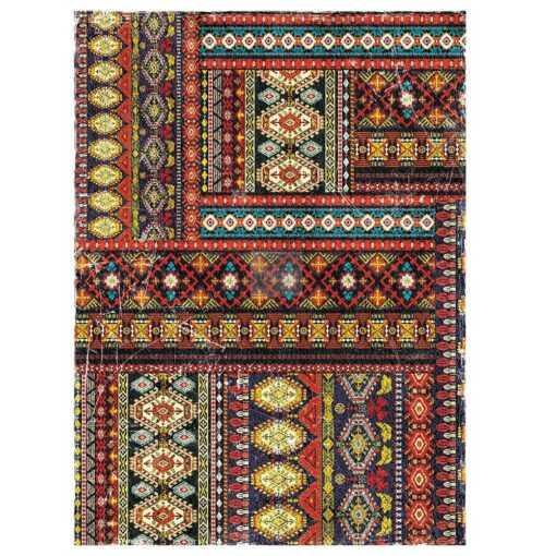 western tapestry display