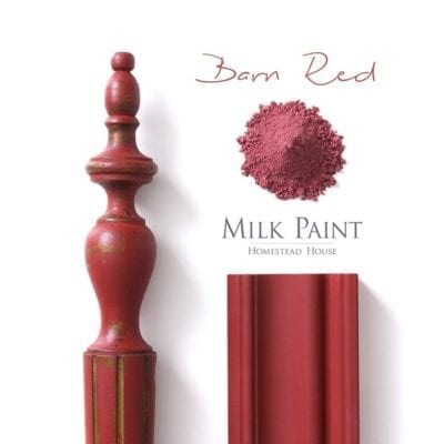 Barn Red Homestead House Milk Paint