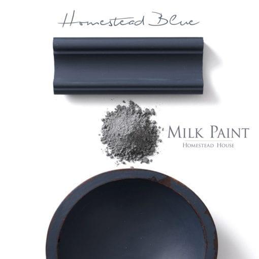 Homestead Blue Milk Paint