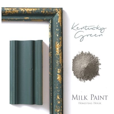 Kentucky-Green homestead house milk paint