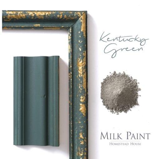 Kentucky-Green homestead house milk paint