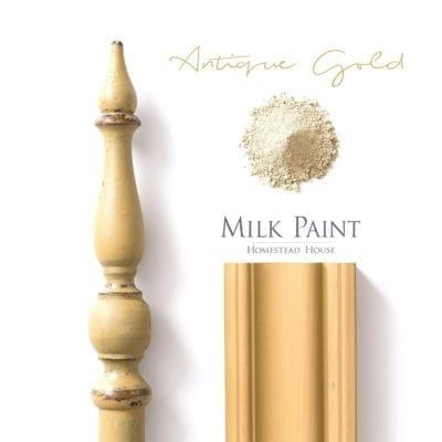 antique gold milk paint