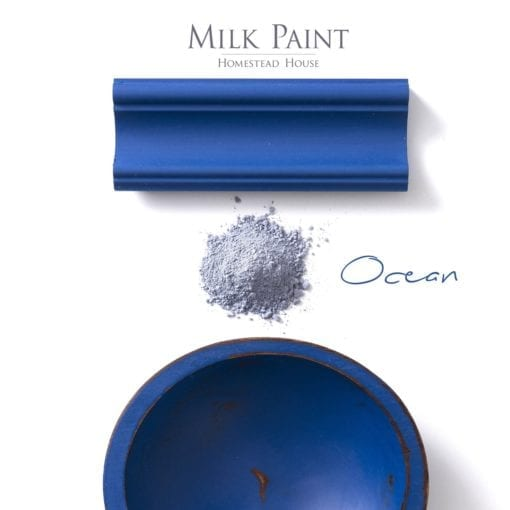 ocean blue milk paint