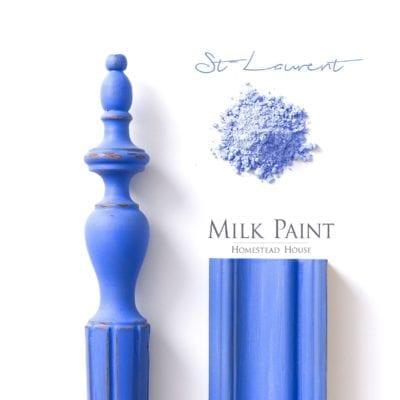 St. Laurent Blue milk paint