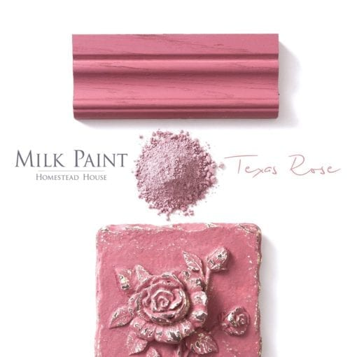 texas rose milk paint