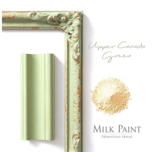 Upper-Canada-Green milk paint