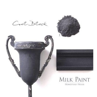coal black milk paint
