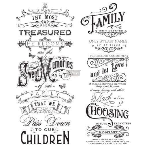 family heirlooms transfer