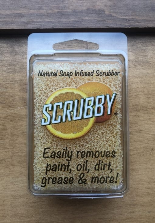 Scrubby Soap Orange