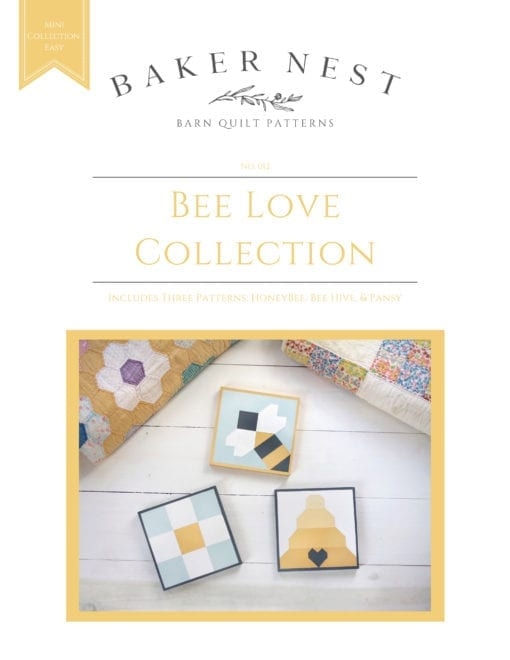 Bee Love Collection Barn Quilt Pattern Book