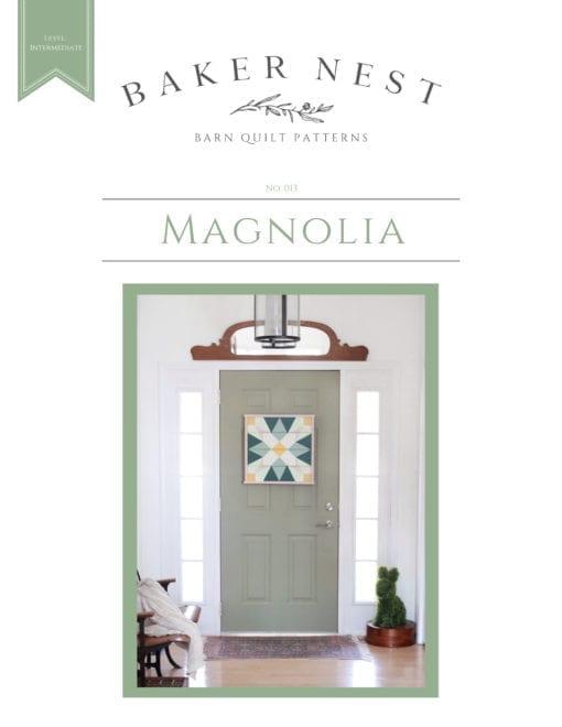 Magnolia Barn Quilt Pattern Book