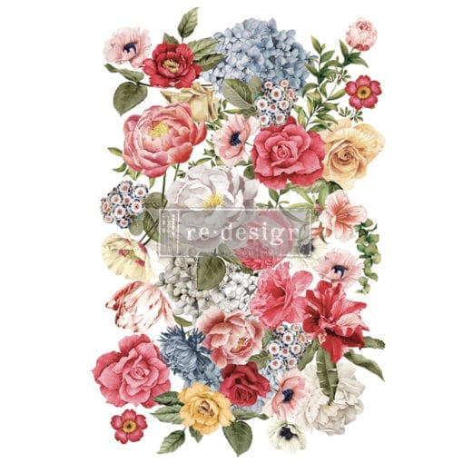 Wondrous Floral II transfer