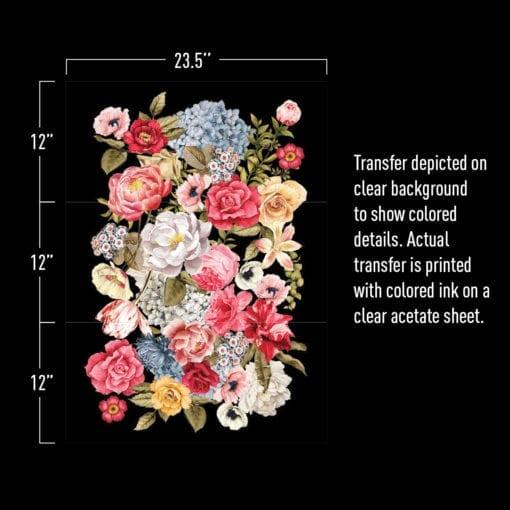 Wondrous floral II transfer measurements