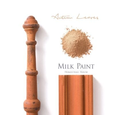 Autumn Leaves Homestead house Milk Paint