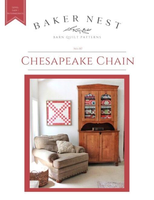 Chesapeake Chain Barn Quilt Pattern Book