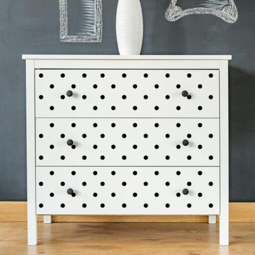 Mini Dot Stick & Style Adhesive Stencil