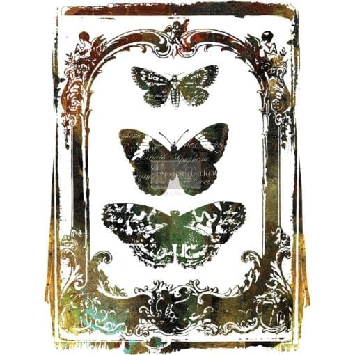 butterfly frame transfer