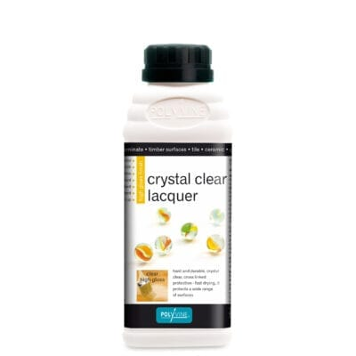 polyvine crystal clear lacquer