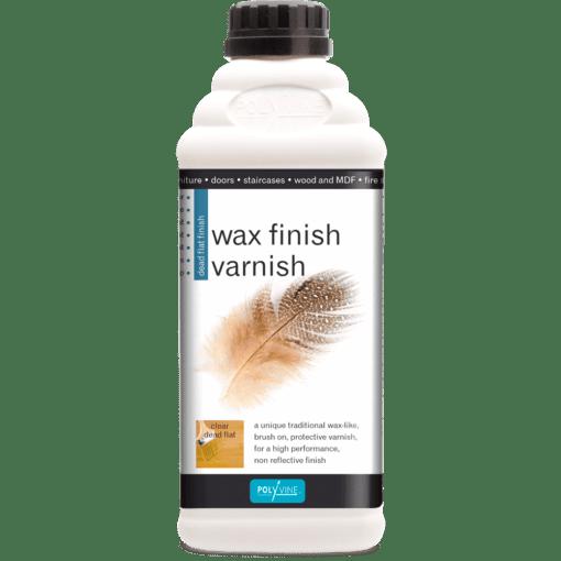 wax finish varnish
