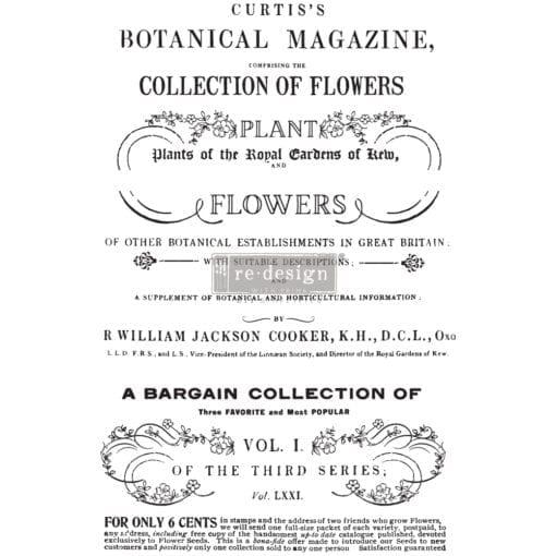 Botanical Magazine Transfer