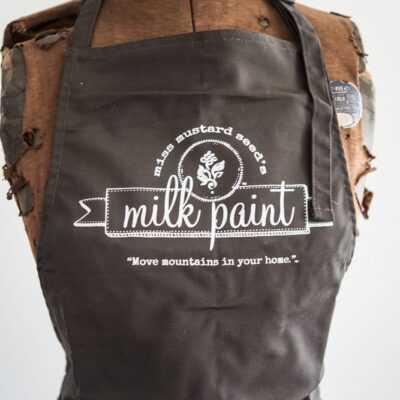 Miss Mustard Seed's Milk Paint Apron