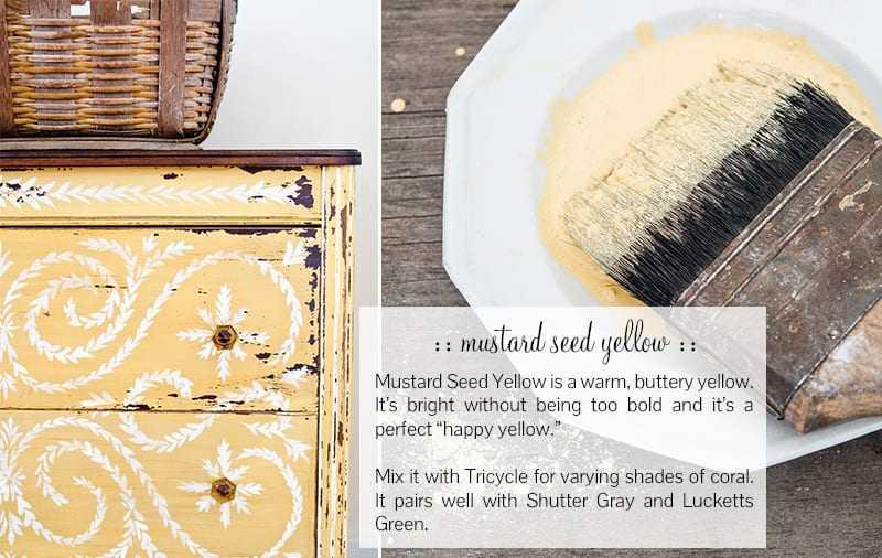 Miss Mustard Seeds Seed Yellow Milk Paint
