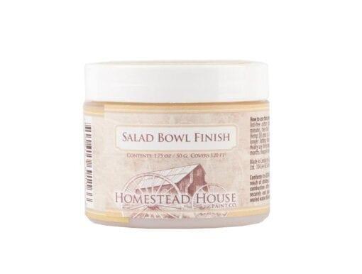 Homestead House Salad Bowl Finish