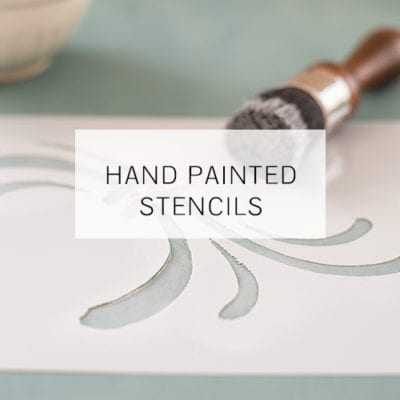 ----Hand Painted Stencils