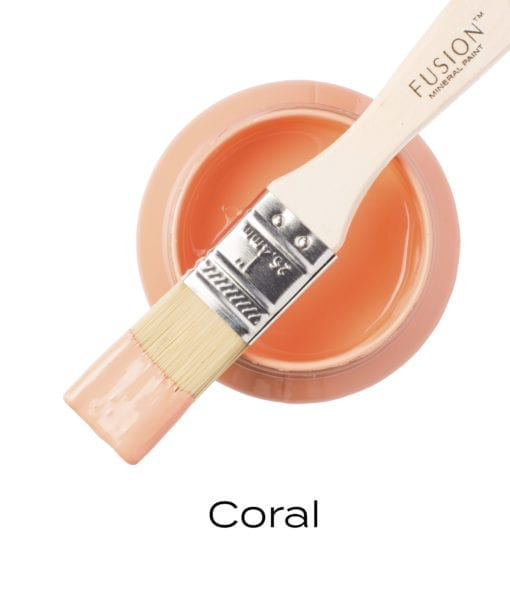 Fusion Mineral Paint in Coral