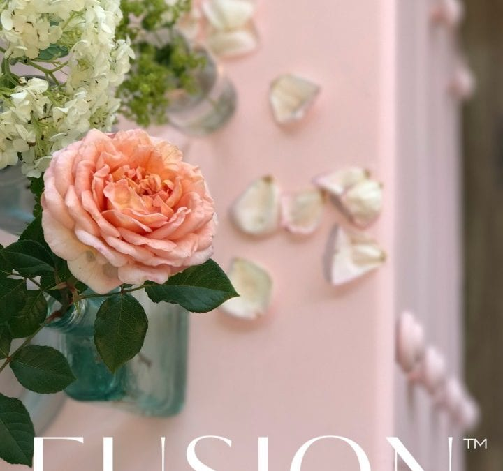 Welcome English Rose a brand new Fusion Mineral Paint color!