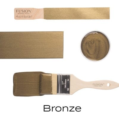 Fusion Mineral Paint Bronze Metallic