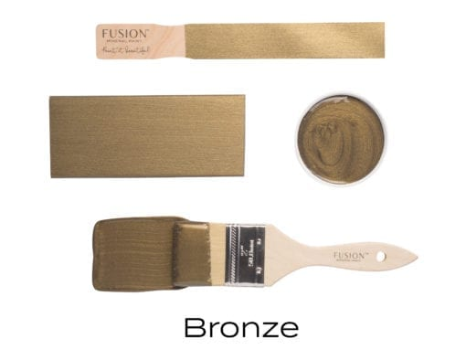 Fusion Mineral Paint Bronze Metallic