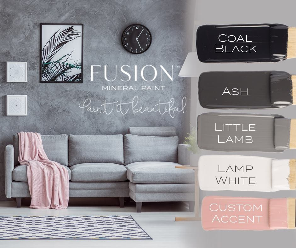 Explore Colors Gold Fusion: February Fusion Mineral Paint Color Story