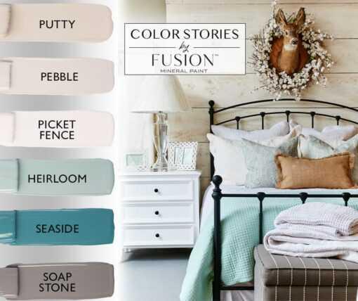 April Fusion Color story