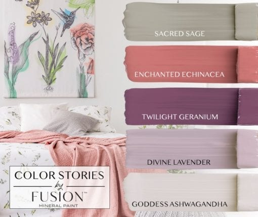 july fusion mineral paint color story