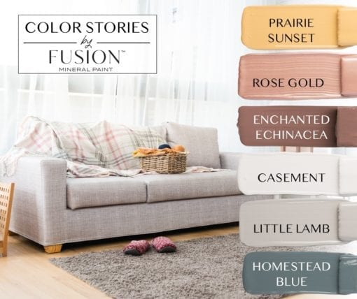 September Fusion Mineral Paint color story