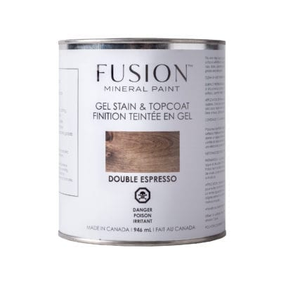 Fusion Double Espresso Gel Stain and Finishing Oil