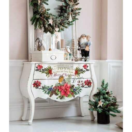 Christmas Greetings Transfer