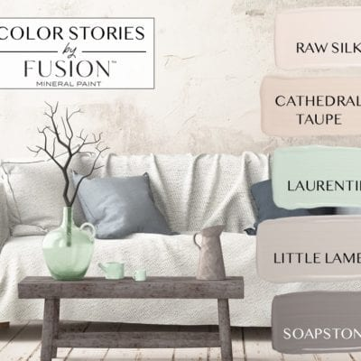 November Color Story Fusion Mineral Paint
