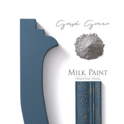Gaspe Green Homestead House Milk Paint