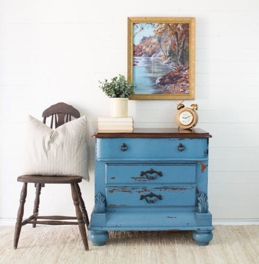 maritime Blue Homestead House Milk Paint