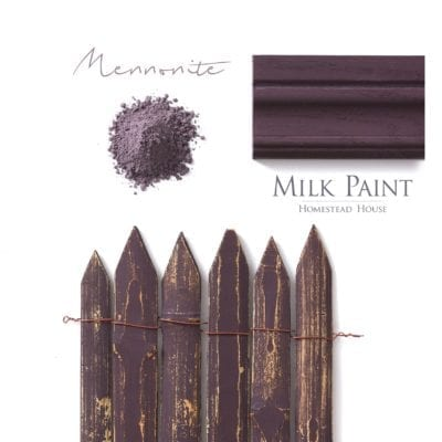 Mennonite red Homestead house milk paint