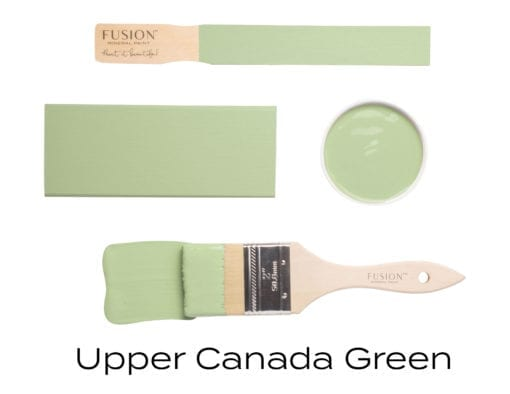 upper canada green fusion mineral paint