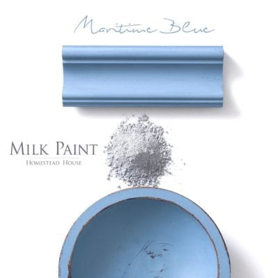 maritime Blue Homestead House Milk Paint