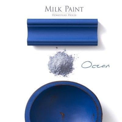 ocean blue milk paint