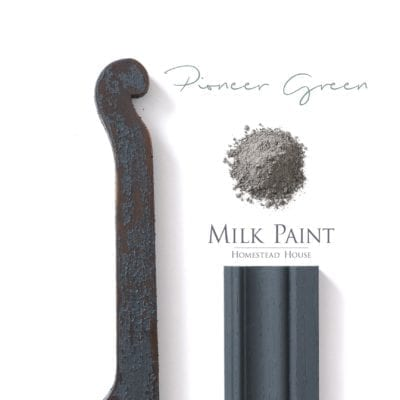pioneer green milk paint