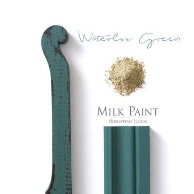waterloo green milk paint